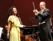 Adèle Charvet et Nicolas Chavin au Festival Berlioz, Exeter Hall - © Festival Berlioz - Simon Barral-Baron